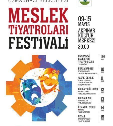 Bursa Meslek Tiyatroları Festivali 2017
