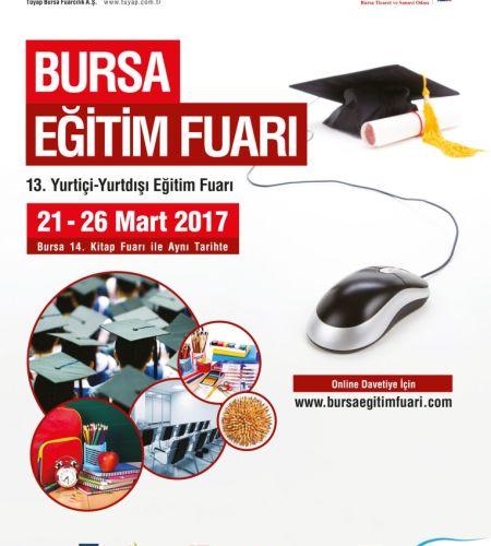 Bursa 13. Eğitim Fuarı 2017
