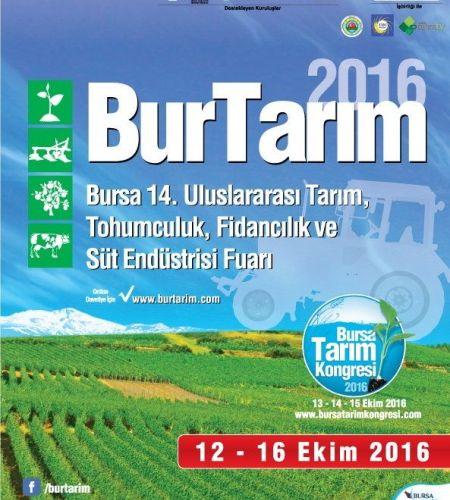 Burtarım 2016 14. Uluslararası Tarım Fuarı