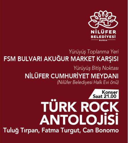 Türk Rock Antolojisi - Tuluğ Tırpan, Fatma Turgut ve Can Bonomo Konseri